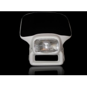 Máscara con óptica de vidrio y lámpara halógena para XR 250