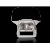 Máscara con óptica de vidrio y lámpara halógena para XR 650