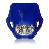 Máscara Universal con óptica de vidrio, lámpara halógena y gomas antivibración