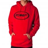 Hoodie Canguro FMF Centered Rojo