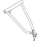 Parrilla Suspensión Superior Izquierda YFZ 450 R+ Rotula