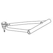 Parrilla Suspensión Superior Derecha YFZ 450 R+ Rotula