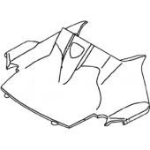 Plastico Cubre Tablero Delantero Yamaha