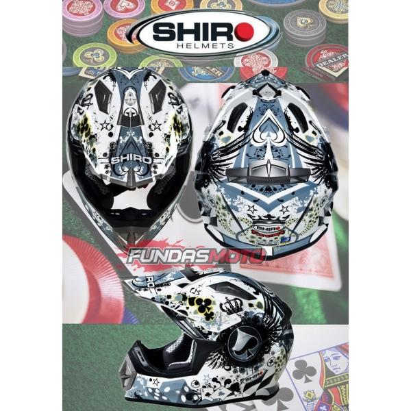 Shiro Casco Shiro Cross Mx 900 Uyuni Fundasmoto