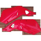 Juego de Cachas Bajo Asiento  para CR 250 Año 97-98 Disponible en color Rojo