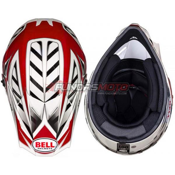 Casco Bell Sx 1 Switch Red Muy Liviano Fundasmoto